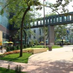 Long Island University Brooklyn – Architectural Landscape
