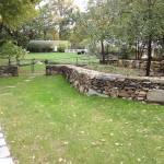 Old Retaining Rock Wall Repair
